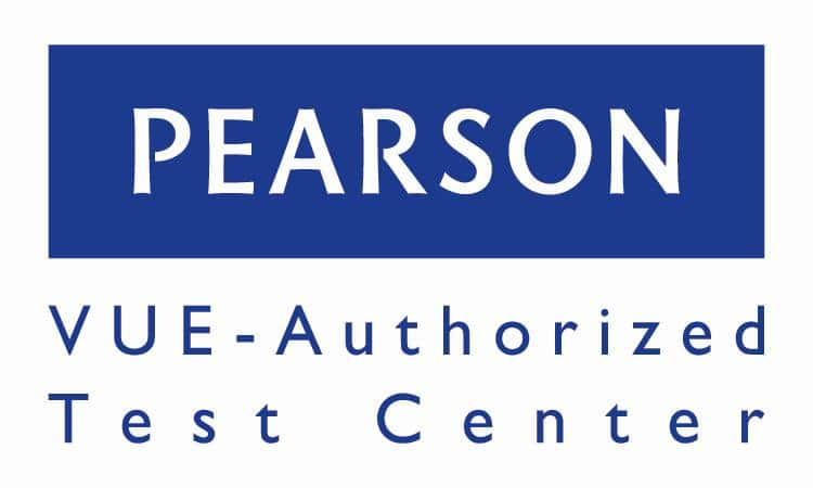 Pearson VUE Authorized Test Center logo-US